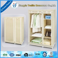 Buy portable non-woven fabric wardrobe