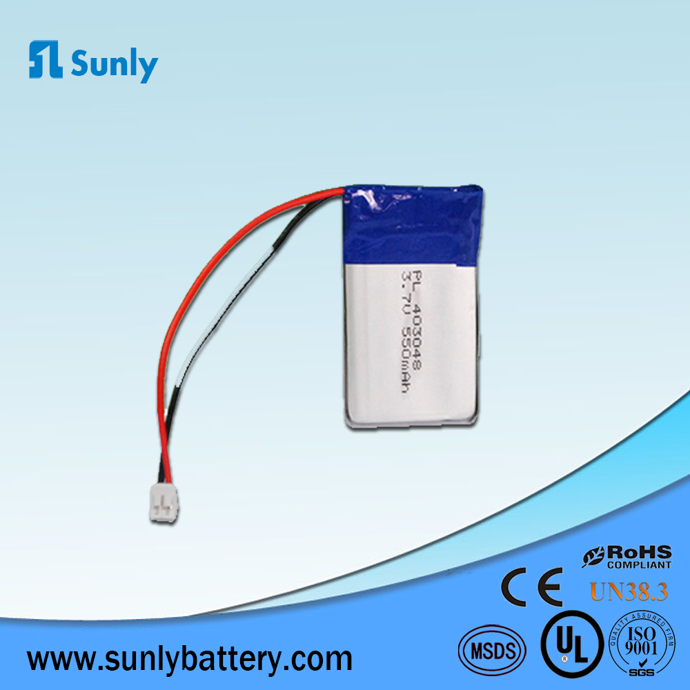 hot sale best price rechargeable 550mAh lipo battery pack 3.7V for digital camera
