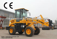Hydraulic1.2 ton small loaders China ZL12F with V snow blade