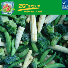 IQF frozen mixed vegetables with different vegetables