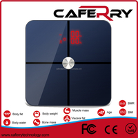 180kg/400lb bluetooth electronic weighing scale, Free App Body analyzer household scale