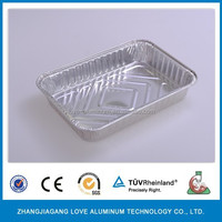 aluminum foil food package case precious high quality