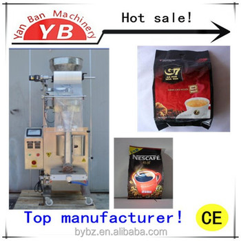 High quality YB-300K Automatic 500g Coffee/Sugar Filling and Packing Machine