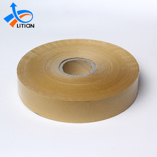 Hot Melt Printed Kraft Adhesive Paper Tape for Sealing Carton Custom Logo