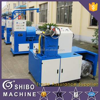 Cable outer casing hose wire rolling machine