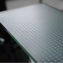 8mm~12mm tempered abrasive glass for floor