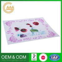 Custom-Made Silicone Rubber Table Cloth Non-Stick Cute Design Table Cloth Factory