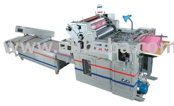 Polythene Bag Printing Offset Machine