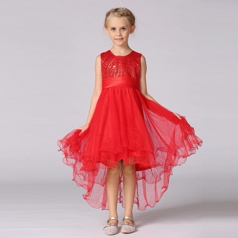 2017 China Supplier Wholesale Fashion Kids Frock Designs Girl Party Wear Children Dress L9018