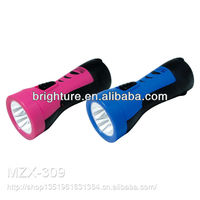 Multi-function Rechargeable Emergency led flashlight/police led torch flashlight/ led torch