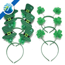 St. Patrick's Day Shamrock Hat Headband Party Costume Accessories Favors Decorations