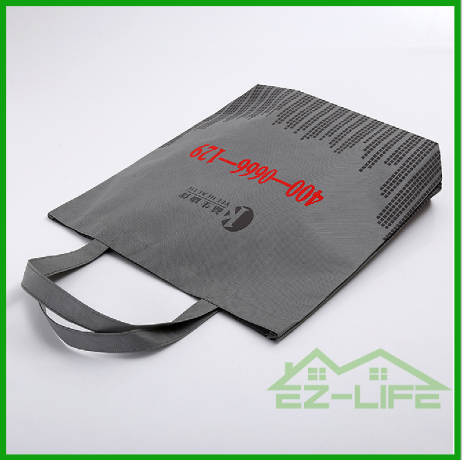 2016 recycled custom foldable promotional pp laminated non woven shopping bag non woven fabric bag