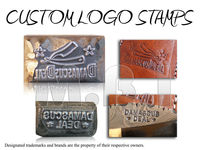 Metal Stamps, Logo Stamps, Leather Stamps