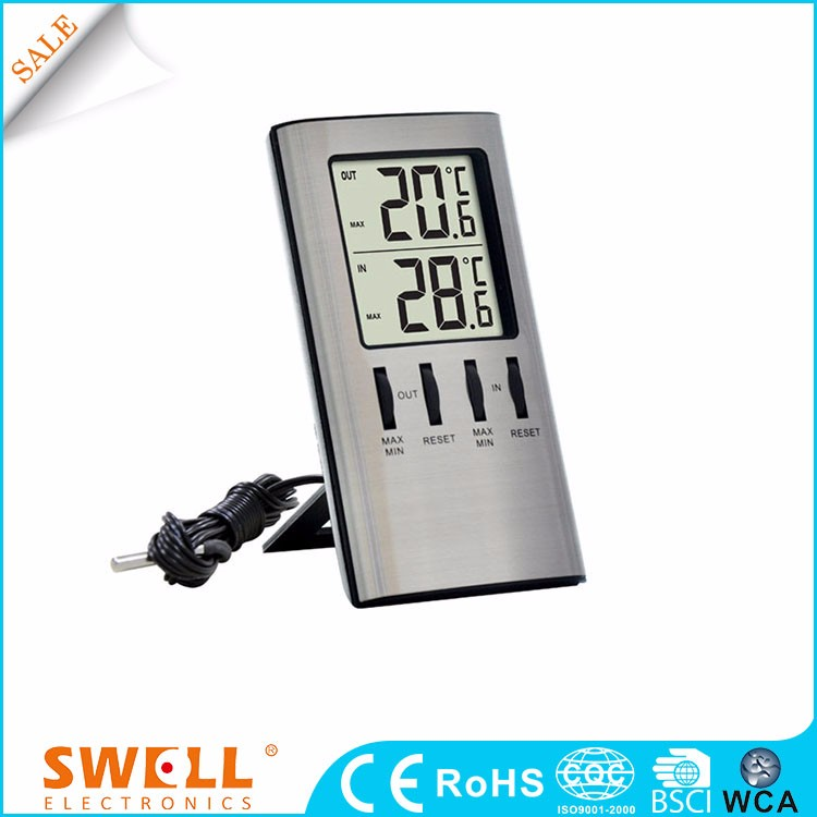 China Table Ce Temperature Display Electric Clock With Day And Date