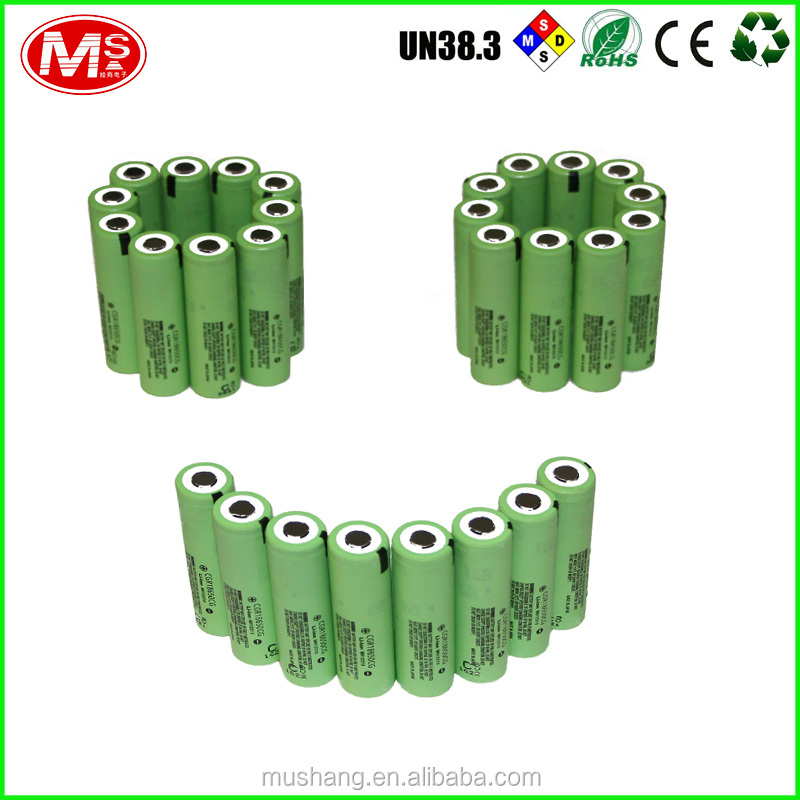 Original from China 18650 3.7V 2200mah lithium battery cell for electric bike