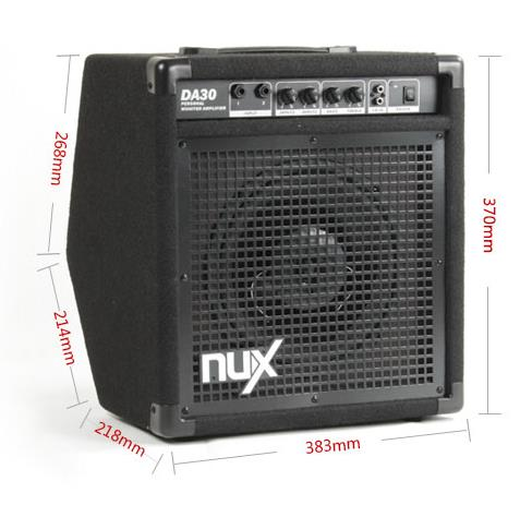 DA30 NUX 30W drum amplifier China musical instrument manufactory