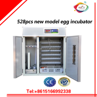 XSA-5 528pcs chicken egg and poultry incubator price and egg hatching machine