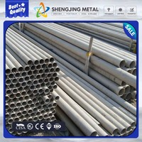 building material decoration pipe TP 304 ASTM A 554 stainless steel pipe price per meter