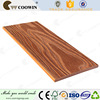 Colored wood plastic composite covering plank