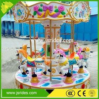 Electric mini kids carousel game/merry go round