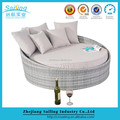 2016 Cheap Sailing Rattan Garden Patio Furniture Daybed Sun Loungers