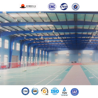 Prefabricated Modern Badminton Hall Steel Structure Sports Hall