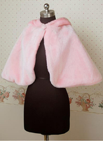 2015 Newest stylish fashional Sweet Pink Women Ladies Cute Lolita Cape Shawl Coat Jacket With Hat Stage Cosplay Costumes