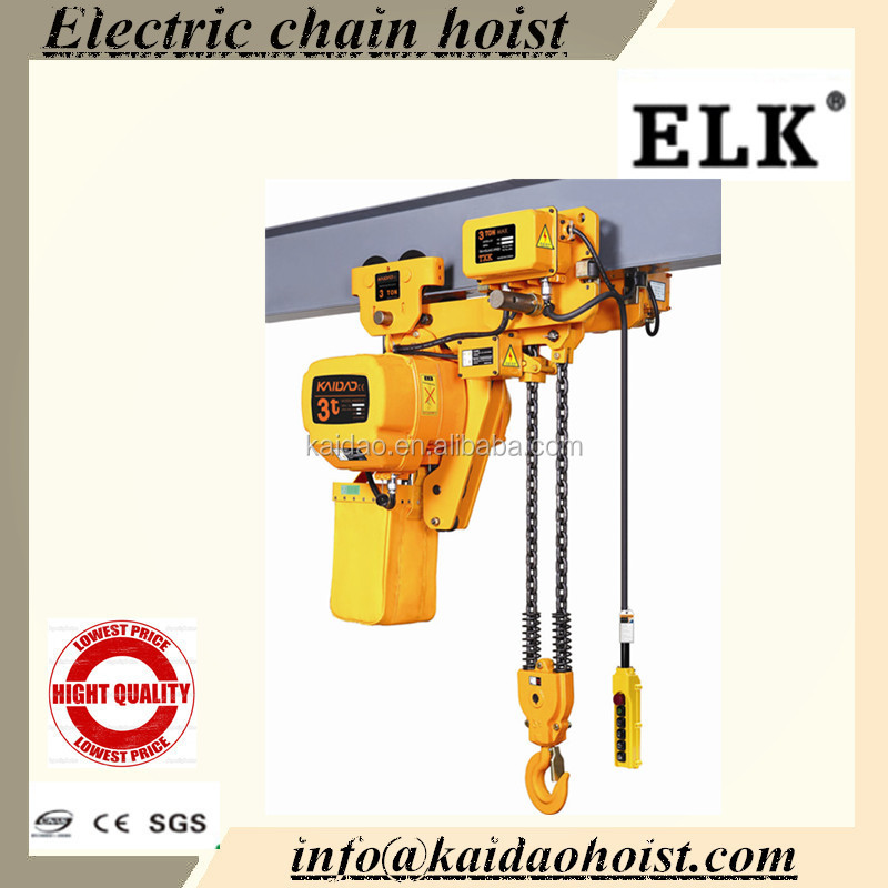 ELK building construction materials lift electrical hoist construction tool