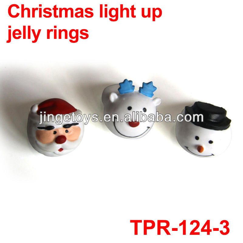 new christmas led jelly ring