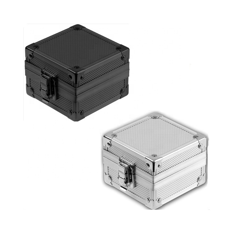 Generous Popular Portable Beauty Aluminum Gift Boxes Small Watch Case