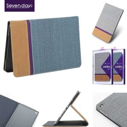 Lastest design litchi leather case for ipad 4