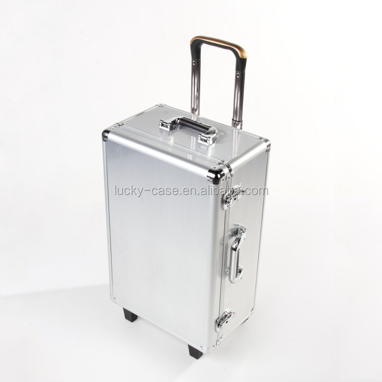 Protector Wheeled Trolley Aluminum Case Storage Boxes with Handle for DJI Phantom DJI Phantom 2 X350
