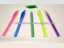 Beautiful Sparkling Different Color Direct Filling Ball Pen