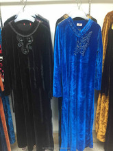 high quality velour fr arab robe