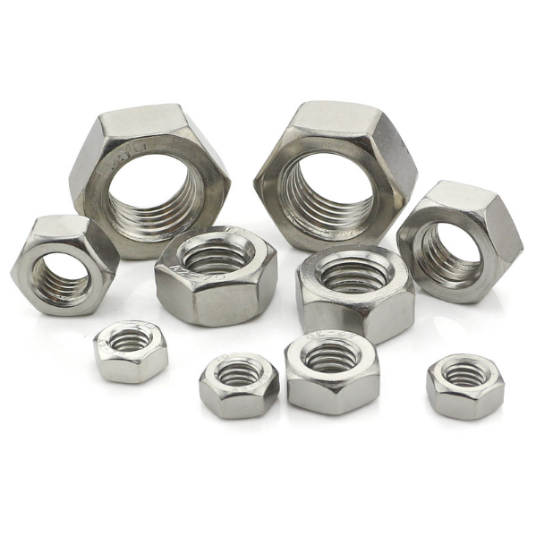 DIN934 carbon steel hex nut hex screw nut <strong>brass</strong> heavy hex nut