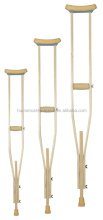 Adjustable underarm crutches wooden cane walking stick for sale