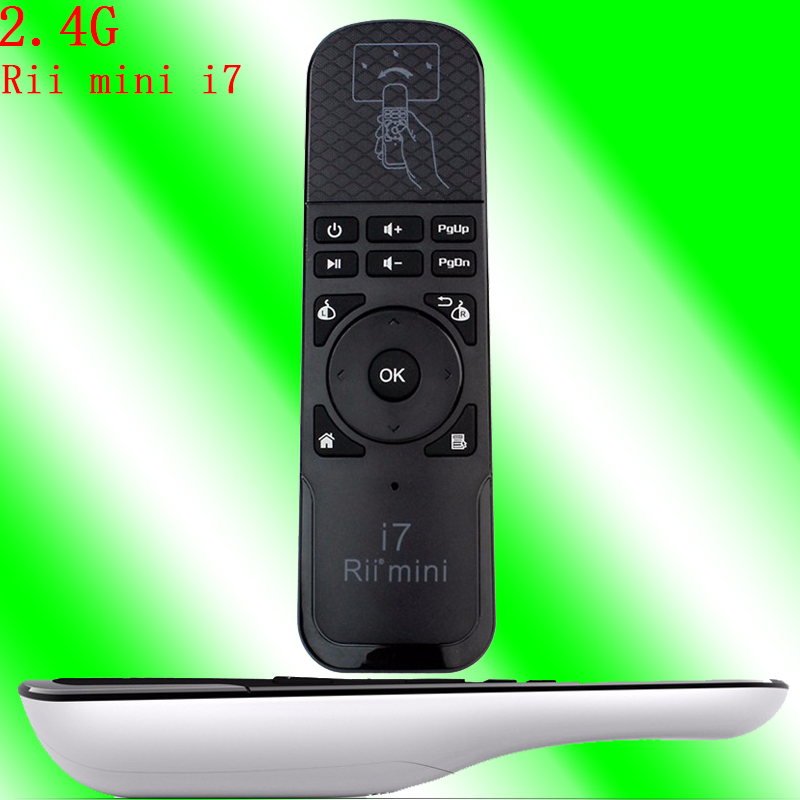 Cheap wireless keyboard 2.4Ghz Rii mini i7 remote control tv for akira set top box