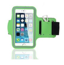 For apple iphone 6 sports armband, mobile phone Sport Armband Case with Key Holder and Headphone Jack