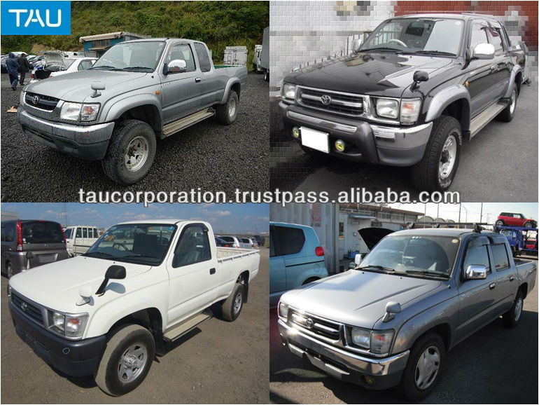 hilux 2wd 4wd models used toyota pickup cars in japan