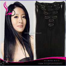 NEW products grade 8a virgin brazilian hair cheap brazilian hair weave bundles claw clip ponytail human hair extension