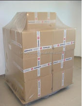Simple and time-saving LDPE heat shrink wrap reusable pallet cover hood bag