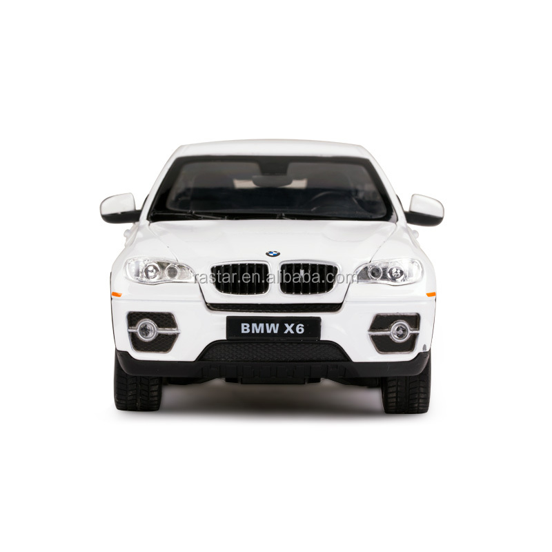 1:24 scale BMW X6 open door model Rastar die cast model car