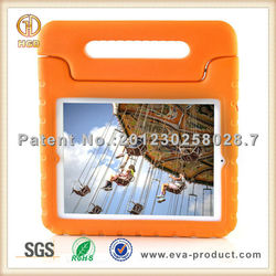Case for ipad tablet, for ipad3 cover for kids, rubber handle grip for ipad 1case with stand