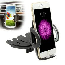 Newest high quality ABS 360 design rotate universal CD Slot Magnetic Universal Car Holder mount for mobile phone