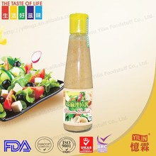 Good price 200ml delicioous Japanese sesame dressing with BRC certificate