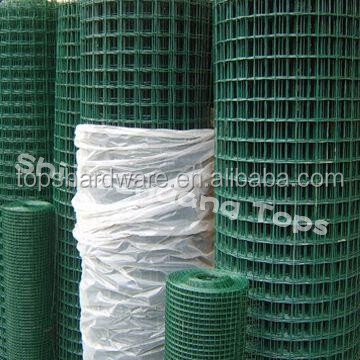 China PVC coated Fish Pot Welded Wire Mesh /Galvanized Welded Wire Mesh