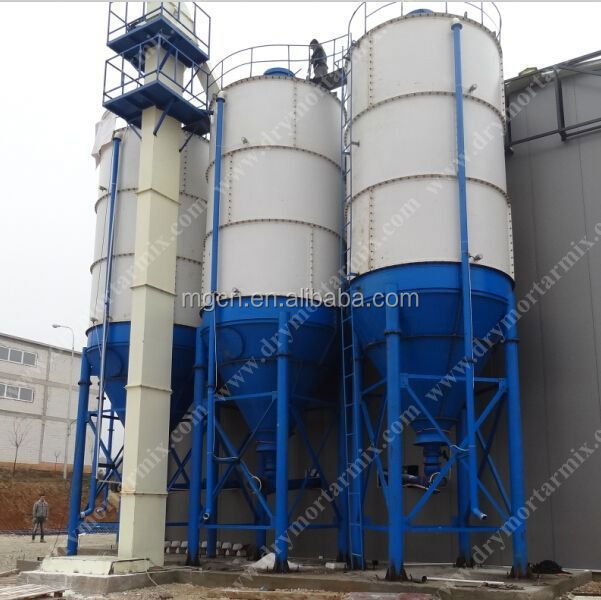 automatic bonding mortar making machine, dry powder blending