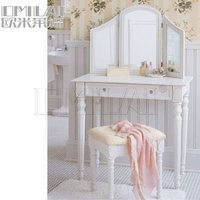 Antique white dressers with mirrors