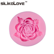Top Quality Factory Direct Price Romantic Rose Flower Cake Decorating Tools Fondant Stencil For Cake