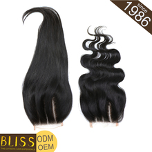 New Fashion Human 3 Part Silk Base Closure